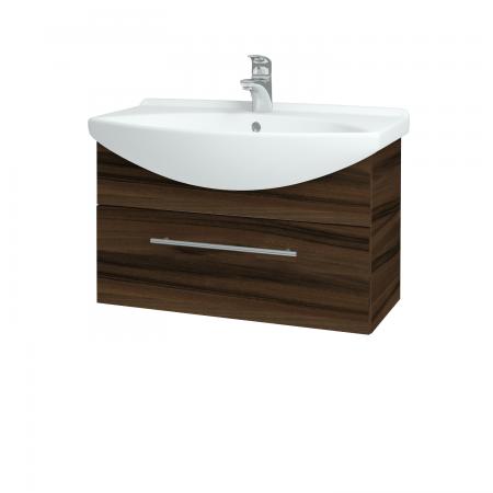 Dřevojas - Koupelnová skříň TAKE IT SZZ 75 - D06 Ořech / Úchytka T02 / D06 Ořech (133870B)