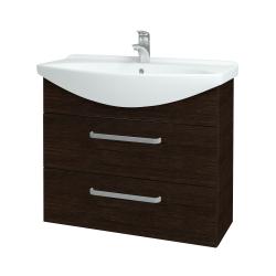 Dřevojas - Koupelnová skříň TAKE IT SZZ2 85 - D08 Wenge / Úchytka T01 / D08 Wenge (134099A)