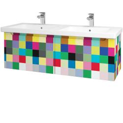 Dřevojas - Koupelnová skříň COLOR SZZ2 125 - IND Individual / IND Individual (146184)