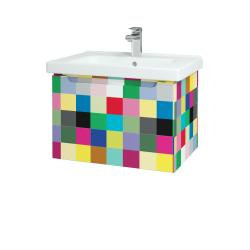 Dřevojas - Koupelnová skříň COLOR SZZ 65 - IND Individual / IND Individual (146603)