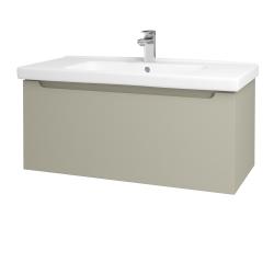 Dřevojas - Koupelnová skříň COLOR SZZ 100 - L04 Béžová vysoký lesk / L04 Béžová vysoký lesk (146658)