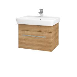 Dřevojas - Koupelnová skříň Q UNO SZZ 60 - D09 Arlington / Úchytka T02 / D09 Arlington (150600B)