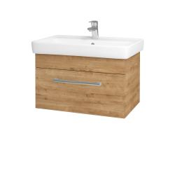 Dřevojas - Koupelnová skříň Q UNO SZZ 70 - D09 Arlington / Úchytka T03 / D09 Arlington (150747C)