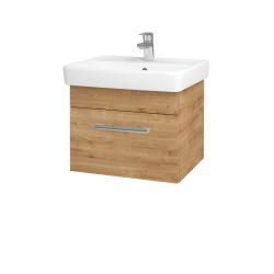 Dřevojas - Koupelnová skříň Q UNO SZZ 55 - D09 Arlington / Úchytka T03 / D09 Arlington (150464C)