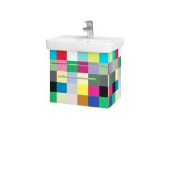 Dřevojas - Koupelnová skříň SOLO SZZ 50 - IND Individual / Úchytka T02 / IND Individual (150105B)