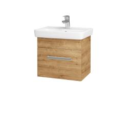 Dřevojas - Koupelnová skříň SOLO SZZ 50 - D09 Arlington / Úchytka T01 / D09 Arlington (150044A)