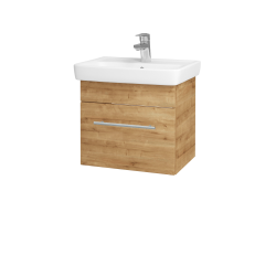 Dřevojas - Koupelnová skříň SOLO SZZ 50 - D09 Arlington / Úchytka T02 / D09 Arlington (150044B)