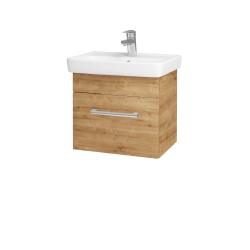 Dřevojas - Koupelnová skříň SOLO SZZ 50 - D09 Arlington / Úchytka T03 / D09 Arlington (150044C)