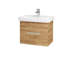 Dřevojas - Koupelnová skříň SOLO SZZ 55 - D09 Arlington / Úchytka T03 / D09 Arlington (150181C)