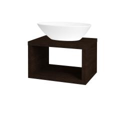 Dřevojas - Koupelnová skříň STORM SZO 60 (umyvadlo Triumph) - D08 Wenge (155124)