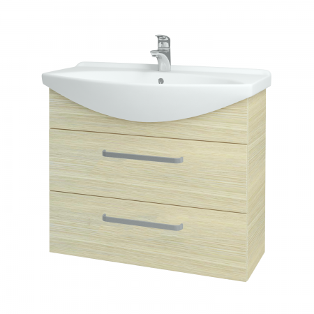 Dřevojas - Koupelnová skříň TAKE IT SZZ2 85 - D04 Dub / Úchytka T01 / D04 Dub (134068A)