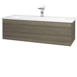 Dřevojas - Koupelnová skříň VARIANTE SZZ 120 (umyvadlo Euphoria) - D03 Cafe / D03 Cafe (160913)