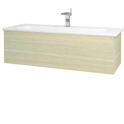 Dřevojas - Koupelnová skříň VARIANTE SZZ 120 (umyvadlo Euphoria) - D04 Dub / D04 Dub (160920)