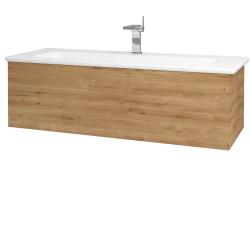 Dřevojas - Koupelnová skříň VARIANTE SZZ 120 (umyvadlo Euphoria) - D09 Arlington / D09 Arlington (160968)
