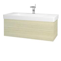 Dřevojas - Koupelnová skříň VARIANTE SZZ 105 - D04 Dub / D04 Dub (164270)