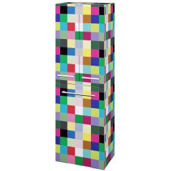 Dřevojas - Skříň vysoká DOS SVD3K 50 - IND Individual / Úchytka T03 / IND Individual (154011C)