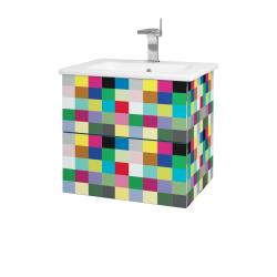 Dřevojas - Koupelnová skříň VARIANTE SZZ2 60 (umyvadlo Euphoria) - IND Individual / IND Individual (159597)