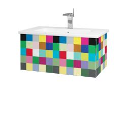 Dřevojas - Koupelnová skříň VARIANTE SZZ 80 (umyvadlo Euphoria) - IND Individual / IND Individual (159870)