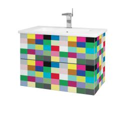 Dřevojas - Koupelnová skříň VARIANTE SZZ2 80 (umyvadlo Euphoria) - IND Individual / IND Individual (160128)