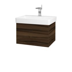 Dřevojas - Koupelnová skříň VARIANTE SZZ 60 - D06 Ořech / D06 Ořech (162627)