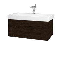 Dřevojas - Koupelnová skříň VARIANTE SZZ 85 - D08 Wenge / D08 Wenge (163747)