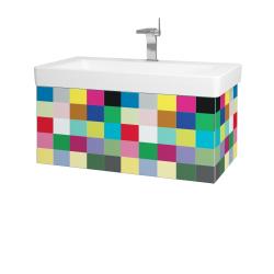 Dřevojas - Koupelnová skříň VARIANTE SZZ 85 - IND Individual / IND Individual (163778)
