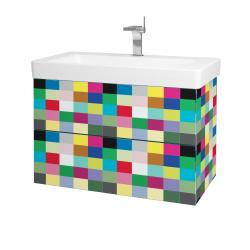 Dřevojas - Koupelnová skříň VARIANTE SZZ2 85 - IND Individual / IND Individual (164058)