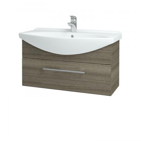 Dřevojas - Koupelnová skříň TAKE IT SZZ 85 - D03 Cafe / Úchytka T02 / D03 Cafe (174798B)
