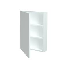 Dřevojas - Jednodvéřová galerka Q GA 50 - N01 Bílá lesk / Levé (29008)