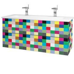 Dřevojas - Koupelnová skříň VARIANTE SZZ2 120 (umyvadlo Euphoria) - IND Individual / IND Individual (161262U)