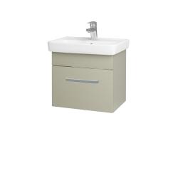 Dřevojas - Koupelnová skříň SOLO SZZ 50 - M05 Béžová mat / Úchytka T01 / M05 Béžová mat (205294A)