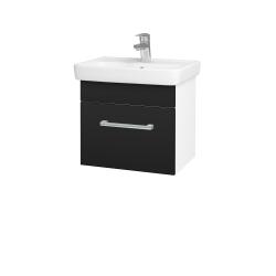 Dřevojas - Koupelnová skříň SOLO SZZ 50 - N01 Bílá lesk / Úchytka T03 / N08 Cosmo (205393C)