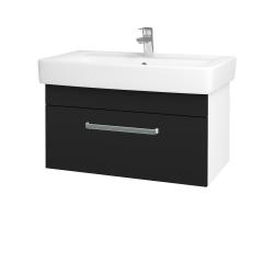 Dřevojas - Koupelnová skříň Q UNO SZZ 80 - N01 Bílá lesk / Úchytka T01 / N08 Cosmo (208998A)