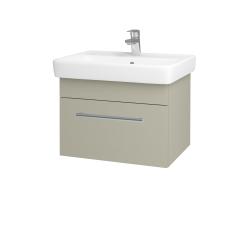 Dřevojas - Koupelnová skříň Q UNO SZZ 60 - M05 Béžová mat / Úchytka T03 / M05 Béžová mat (208493C)