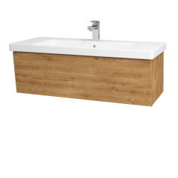 Dřevojas - Koupelnová skříň INVENCE SZZ 100 (umyvadlo Harmonia) - D09 Arlington / D09 Arlington (180355)