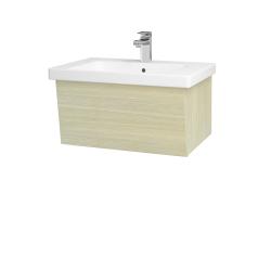 Dřevojas - Koupelnová skříň INVENCE SZZ 65 (umyvadlo Harmonia) - D04 Dub / D04 Dub (176099)