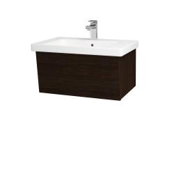 Dřevojas - Koupelnová skříň INVENCE SZZ 65 (umyvadlo Harmonia) - D08 Wenge / D08 Wenge (176129)