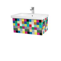 Dřevojas - Koupelnová skříň INVENCE SZZ 65 (umyvadlo Harmonia) - IND Individual / IND Individual (176198)