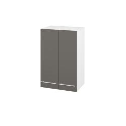 Dřevojas - Skříň horní DOS SYD2 50 - N01 Bílá lesk / Úchytka T02 / N06 Lava (211073B)