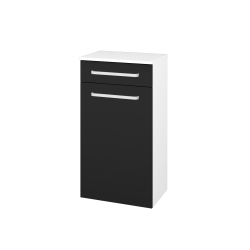 Dřevojas - Skříň spodní DOS SNDKZ 50 - N01 Bílá lesk / Úchytka T01 / N08 Cosmo (211264A)