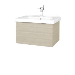 Dřevojas - Koupelnová skříň VARIANTE SZZ 65 (umyvadlo Harmonia) - D04 Dub / D04 Dub (190781)