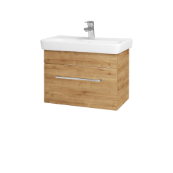 Dřevojas - Koupelnová skříň SOLO SZZ 60 - D09 Arlington / Úchytka T04 / D09 Arlington (150327E)