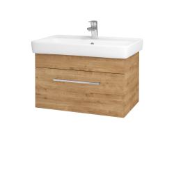 Dřevojas - Koupelnová skříň Q UNO SZZ 70 - D09 Arlington / Úchytka T04 / D09 Arlington (150747E)