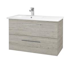 Dřevojas - Koupelnová skříň GIO SZZ2 90 - D05 Oregon / Úchytka T04 / D05 Oregon (202347E)