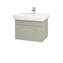 Dřevojas - Koupelnová skříň Q UNO SZZ 60 - M05 Béžová mat / Úchytka T04 / M05 Béžová mat (208493E)