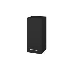 Dřevojas - Skříň horní DOS SYD 35 - L03 Antracit vysoký lesk / Úchytka T04 / L03 Antracit vysoký lesk / Levé (156695E)