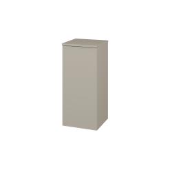 Dřevojas - Skříň spodní DOS SND 35 - M05 Béžová mat / Bez úchytky T31 / M05 Béžová mat / Levé (211721D)