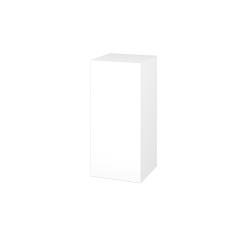 Dřevojas - Skříň horní DOS SYD 35 - N01 Bílá lesk / Bez úchytky T31 / M01 Bílá mat / Pravé (211967DP)