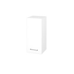 Dřevojas - Skříň horní DOS SYD 35 - N01 Bílá lesk / Úchytka T04 / M01 Bílá mat / Levé (211967E)