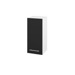 Dřevojas - Skříň horní DOS SYD 35 - N01 Bílá lesk / Úchytka T02 / N08 Cosmo / Levé (212025B)